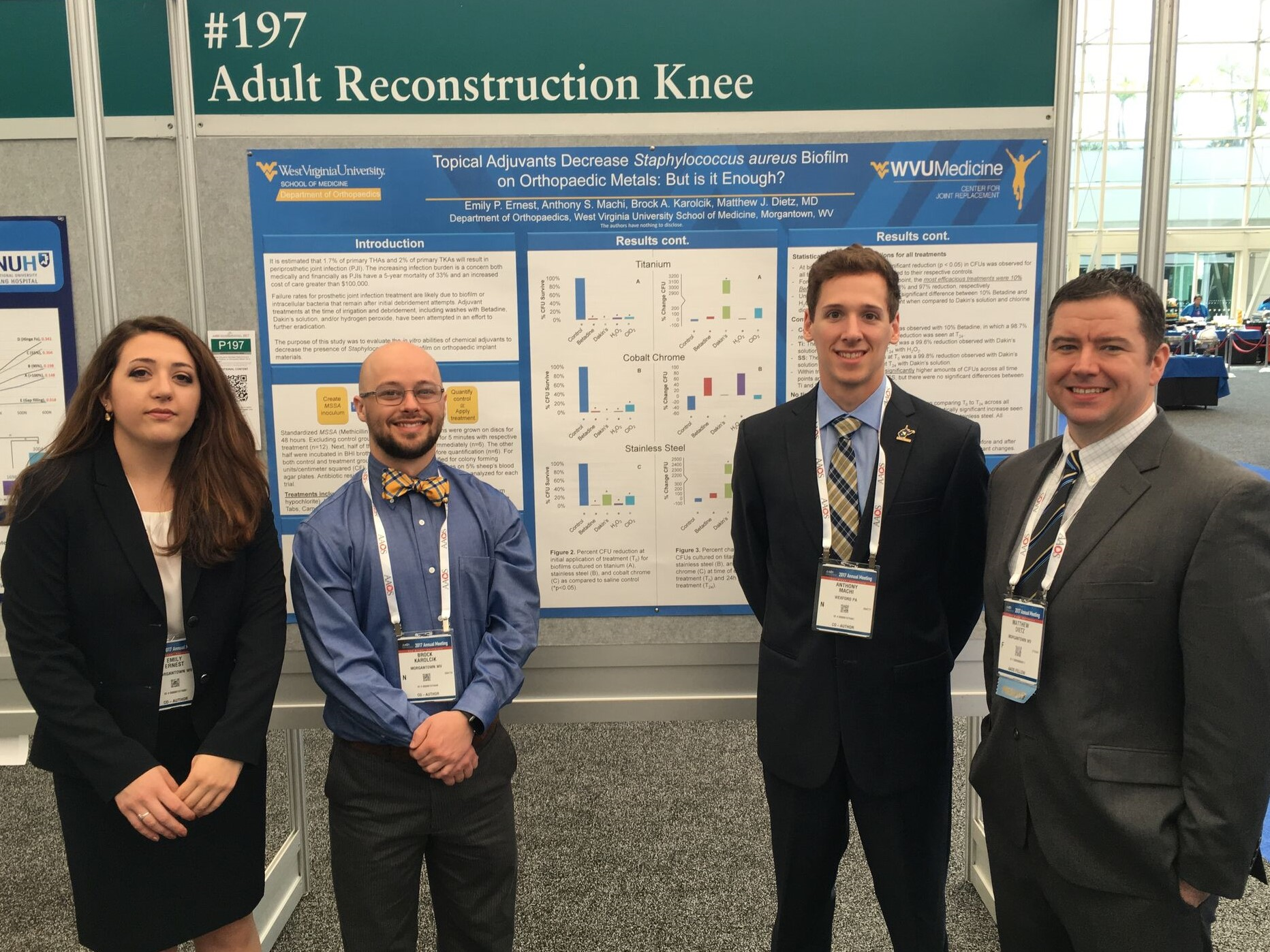Presenters at the AAOS 2017 conference