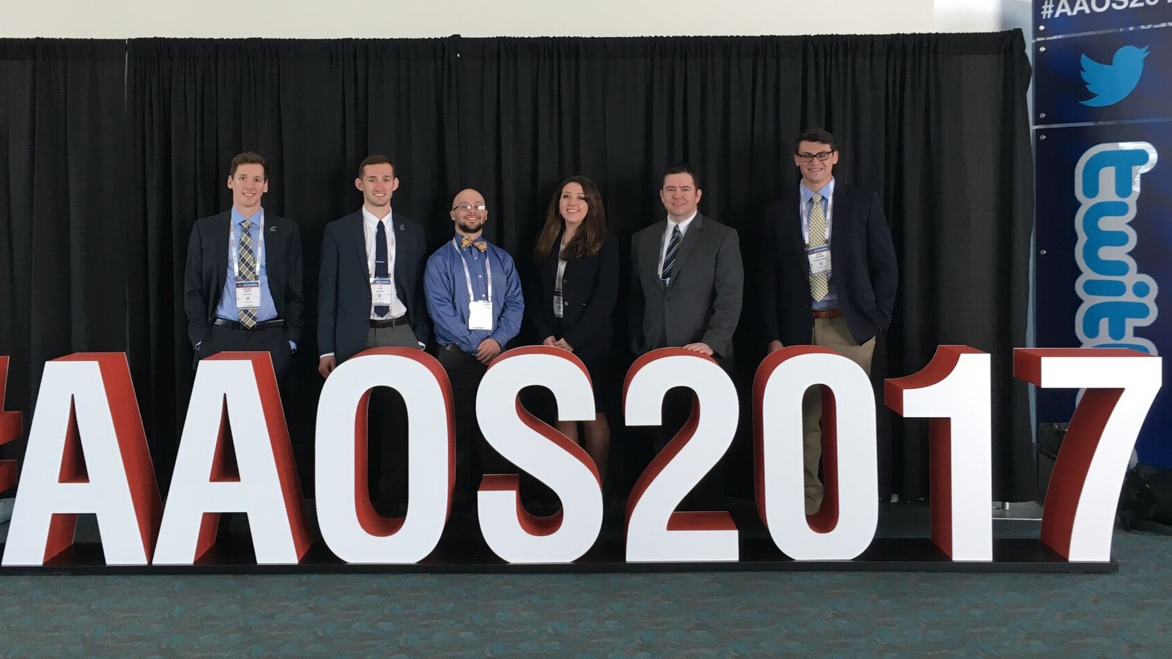 Presenters at the AAOS conference